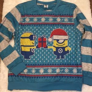 Minions Ugly Christmas Sweater Despicable Me XXL